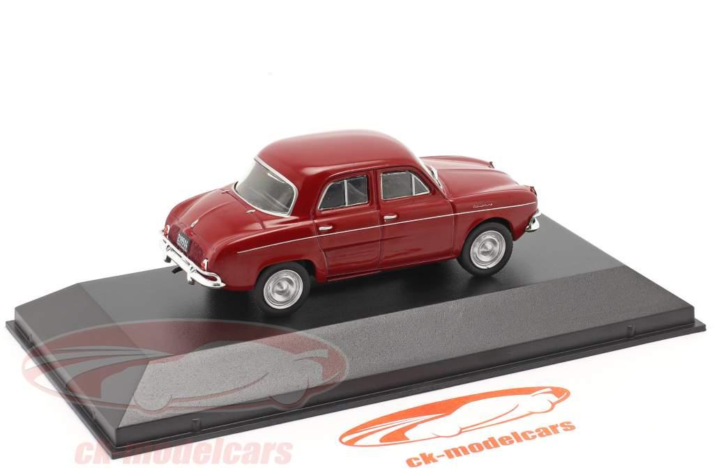 Renault Dauphine Año de construcción 1965 oscuro rojo 1:43 Altaya
