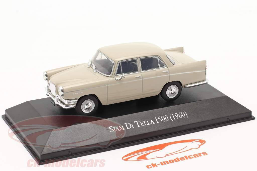 Siam Di Tella 1500 Riley 4 Año de construcción 1960 beige 1:43 Altaya