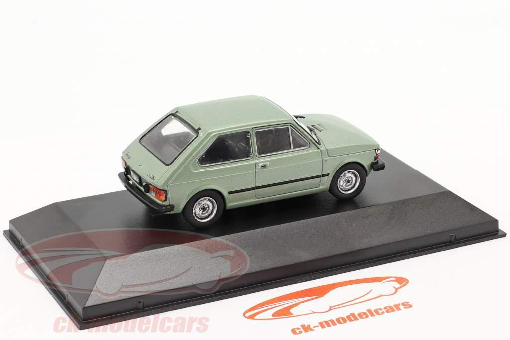 Fiat 147 CL5 Bouwjaar 1983 licht groen metalen 1:43 Altaya
