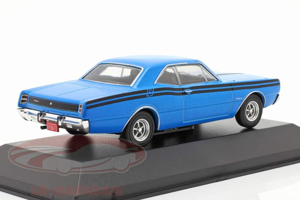 Dodge Polara RT Bouwjaar 1974 blauw 1:43 Altaya