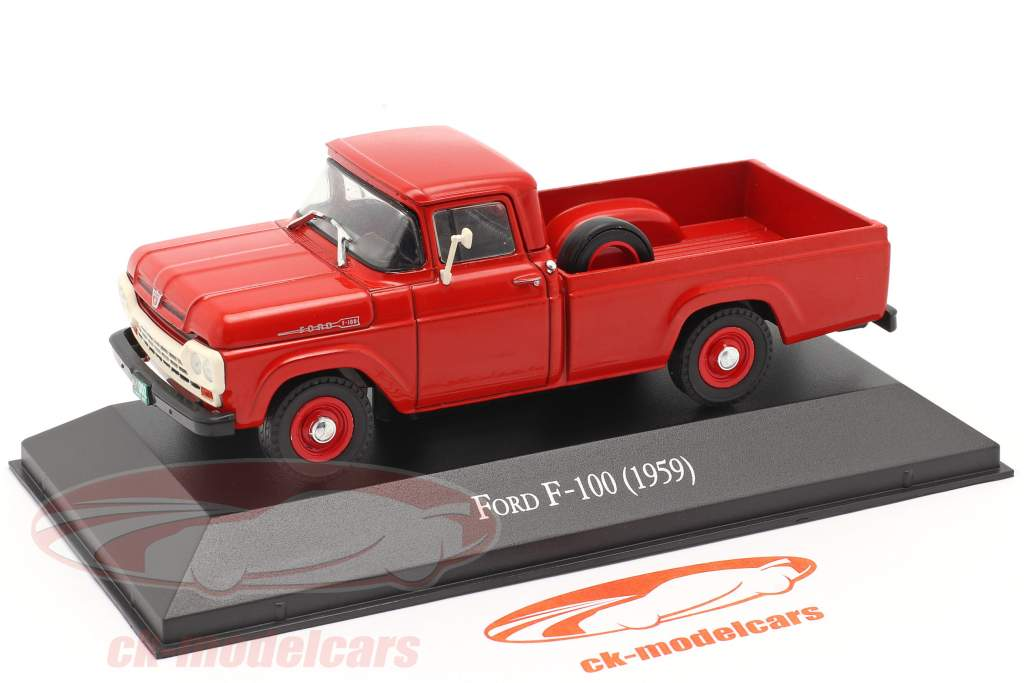 Ford F-100 Pick-Up Baujahr 1959 rot 1:43 Altaya