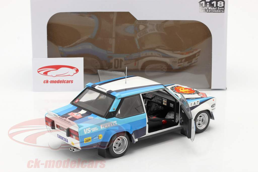 Fiat 131 Abarth #10 vinder Rallye Monte Carlo 1980 Röhrl, Geistdörfer 1:18 Solido