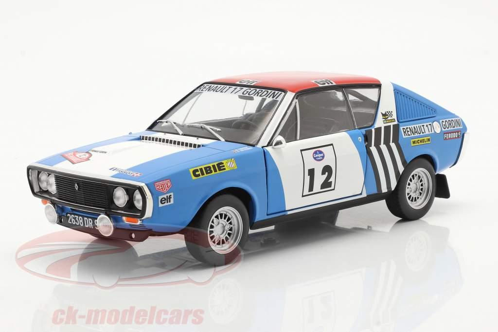 Renault R17 Gordini #12 vincitore Rallye Press-on-Regardless 1974 1:18 Solido