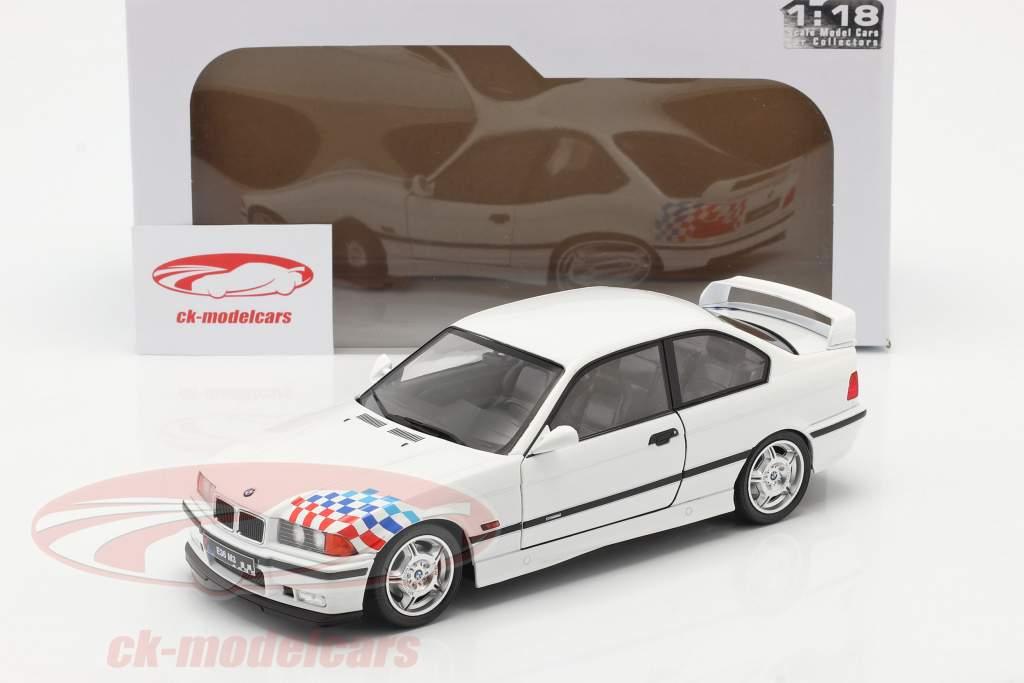 BMW M3 (E36) Coupe Lightweight Baujahr 1990 weiß 1:18 Solido