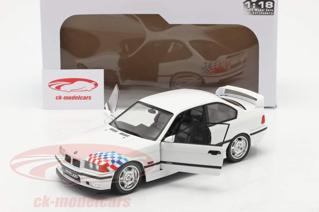 BMW M3 (E36) Coupe Lightweight Bouwjaar 1990 Wit 1:18 Solido