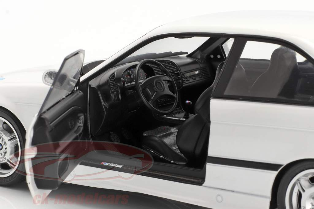 BMW M3 (E36) Coupe Lightweight Année de construction 1990 blanc 1:18 Solido