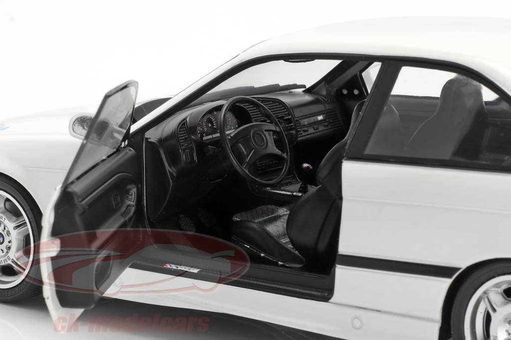 BMW M3 (E36) Coupe Lightweight Año de construcción 1990 blanco 1:18 Solido