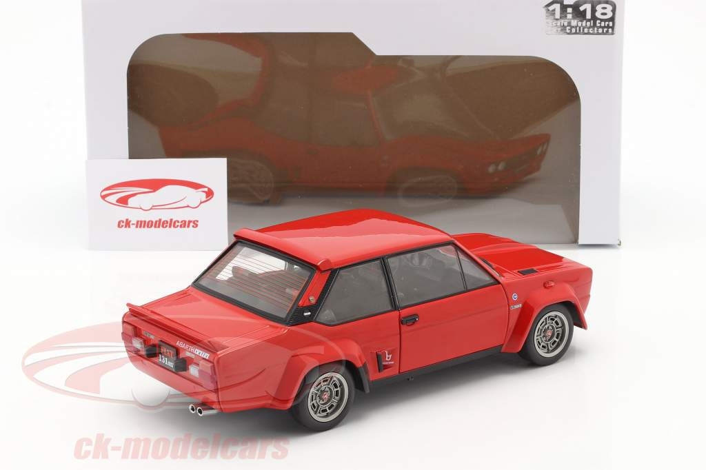 Fiat 131 Abarth Construction year 1980 red 1:18 Solido