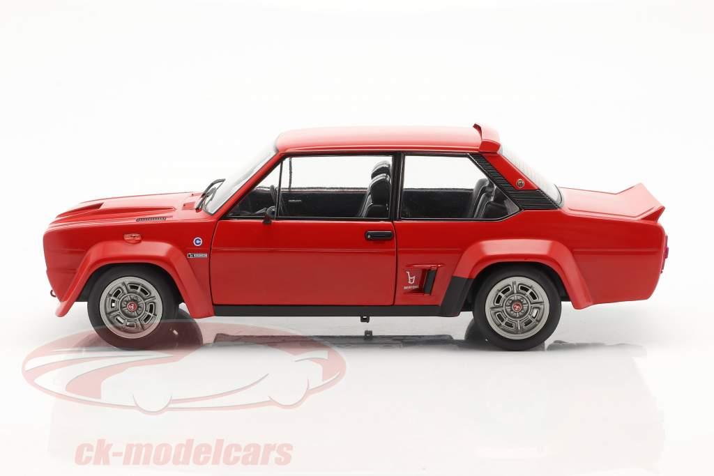 Fiat 131 Abarth Anno di costruzione 1980 rosso 1:18 Solido