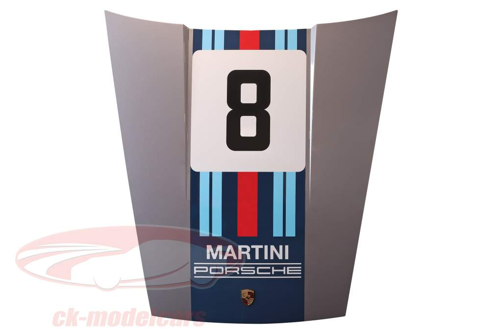 Voorkap Porsche 911 G-model #8 Martini Racing ontwerp