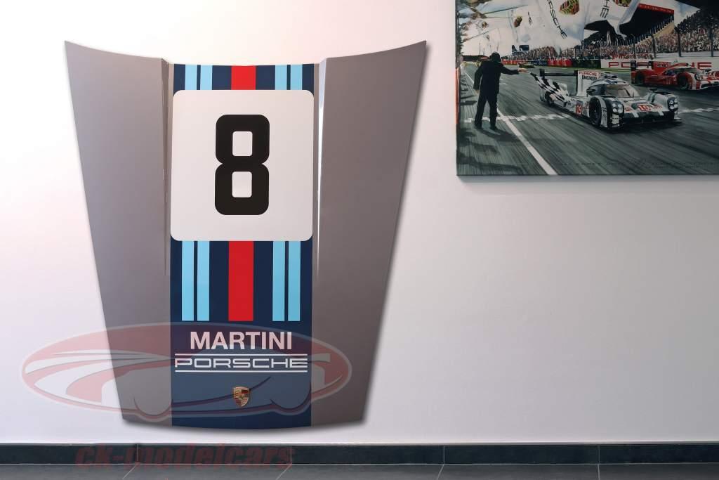 Capot avant Porsche 911 Modèle G #8 Martini Racing conception
