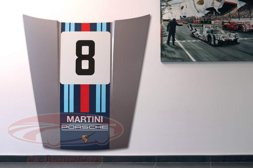 Hætte foran Porsche 911 G-model #8 Martini Racing design