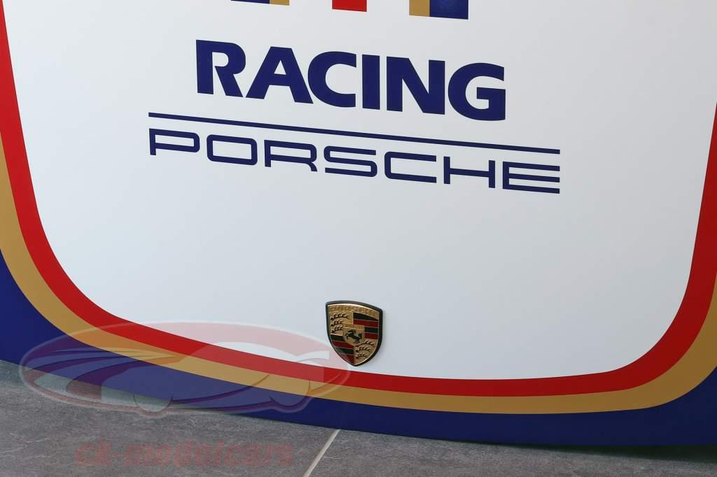 Capô frontal Porsche 911 Modelo G #1 Automobilismo Rothmans Projeto