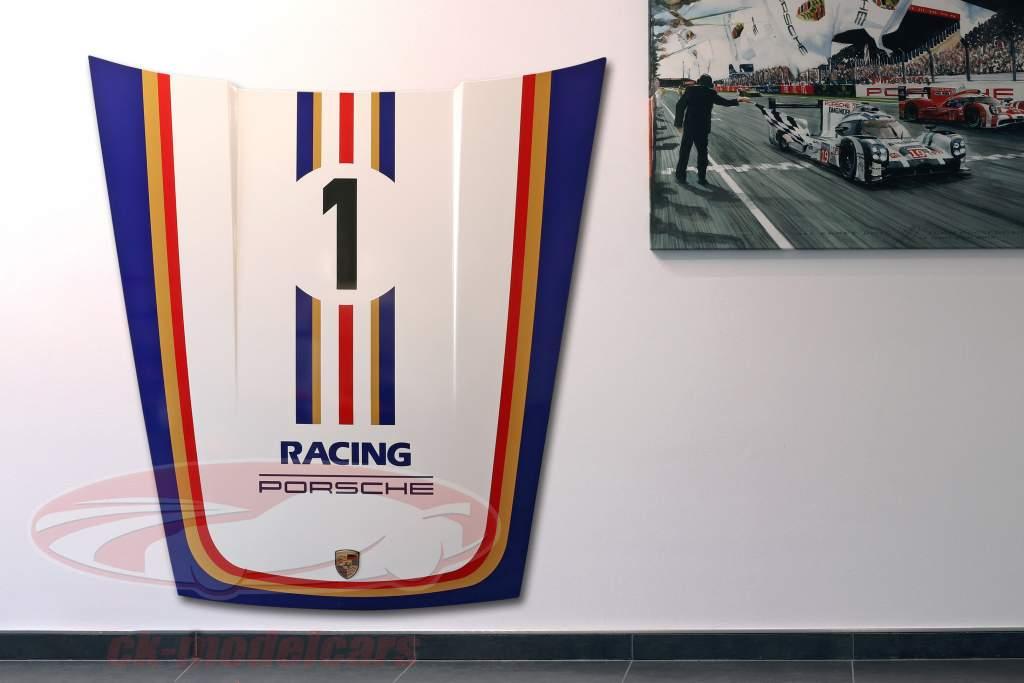 Capucha delantera Porsche 911 Modelo G #1 Deportes de motor Rothmans diseño