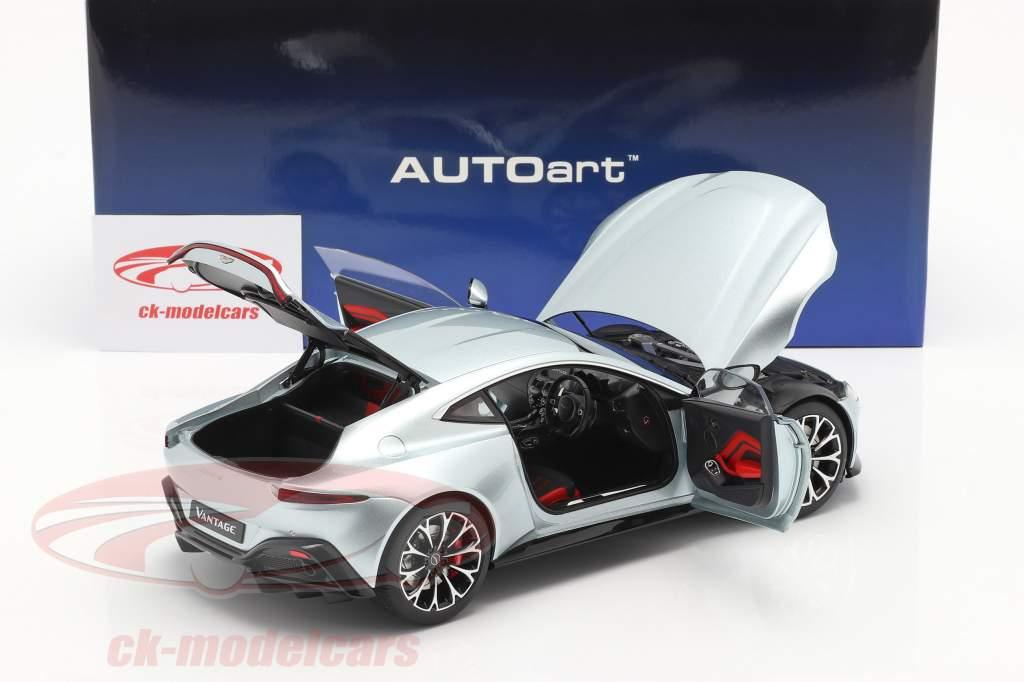 Aston Martin Vantage Année de construction 2019 skyfall argent 1:18 AUTOart