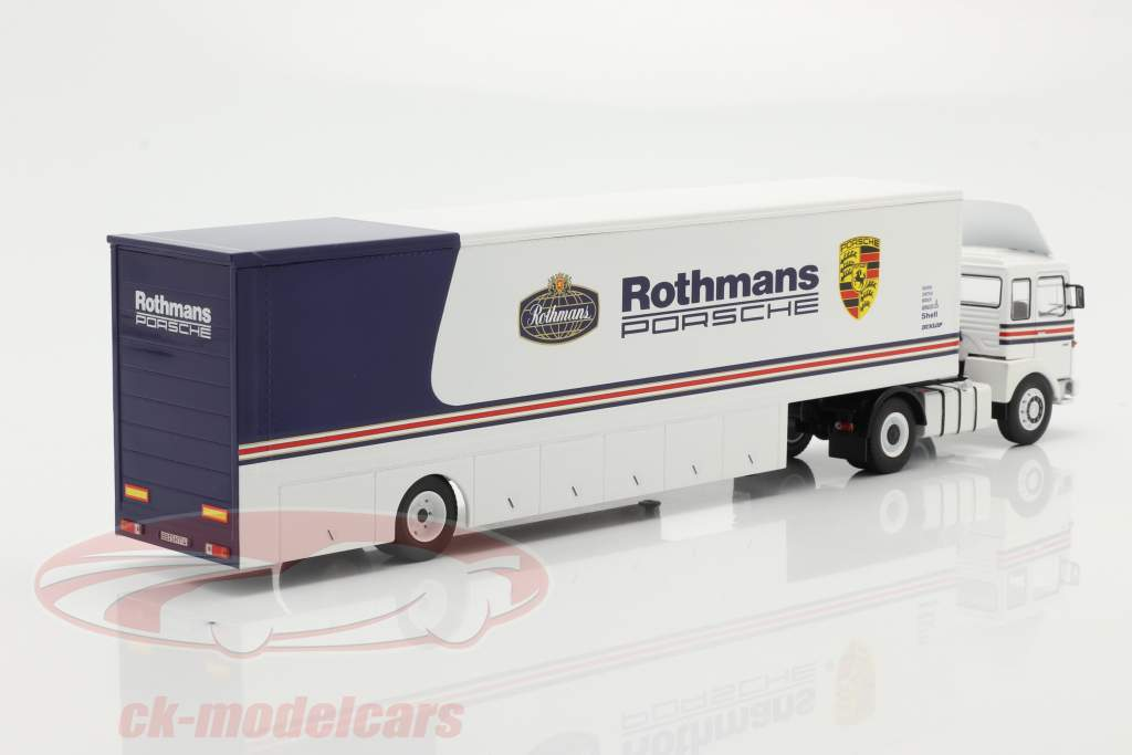 MAN Büssing 19.320 Raza Carro Transportador Rothmans Porsche Motorsport 1:43 Ixo