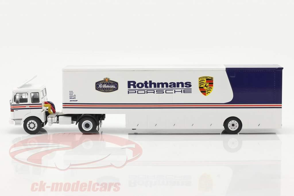 MAN Büssing 19.320 Race Bil Transportør Rothmans Porsche Motorsport 1:43 Ixo