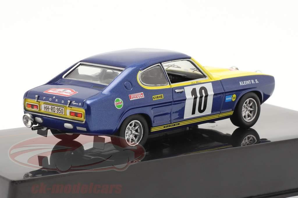 Ford Capri 2600 #10 2ª Rallye Rajd Polski 1972 Röhrl, Berger 1:43 Ixo