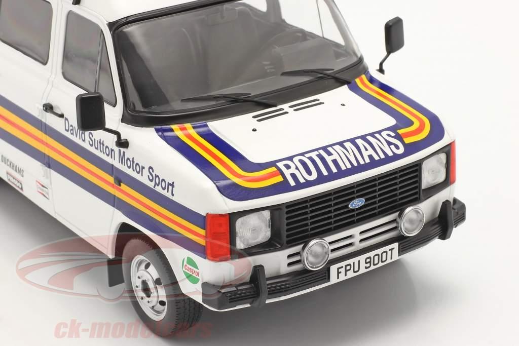 Ford Transit MK II furgão Rallye Assistance Rothmans 1:18 Ixo