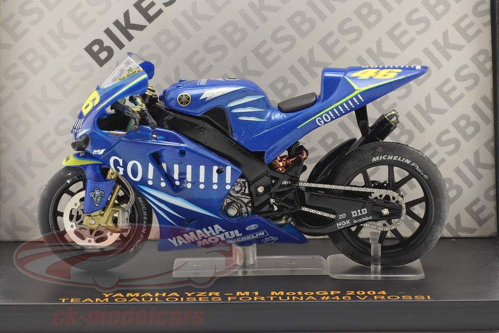 V. Rossi Yamaha YZR-M1 #46 Moto GP 2004 1:24 Ixo