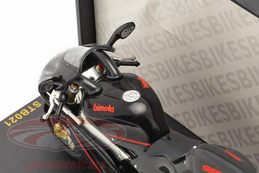 Bimota XB8R Special schwarz 1:24 Ixo