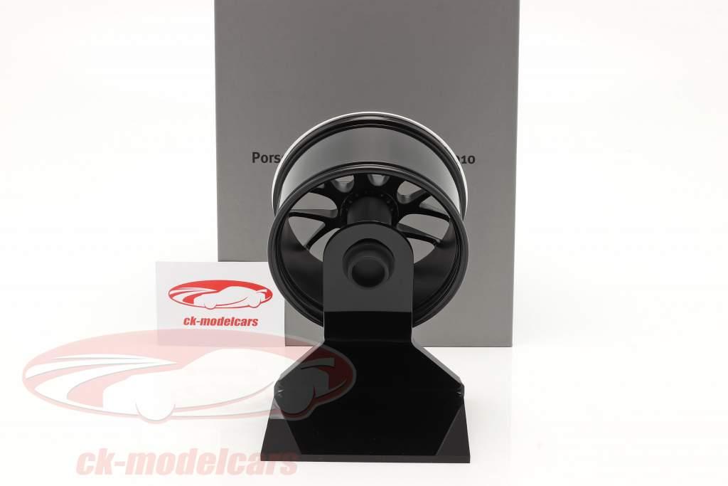 Porsche 911 (997 II) Turbo 2010 jante 19 inch noir 1:5 Minichamps
