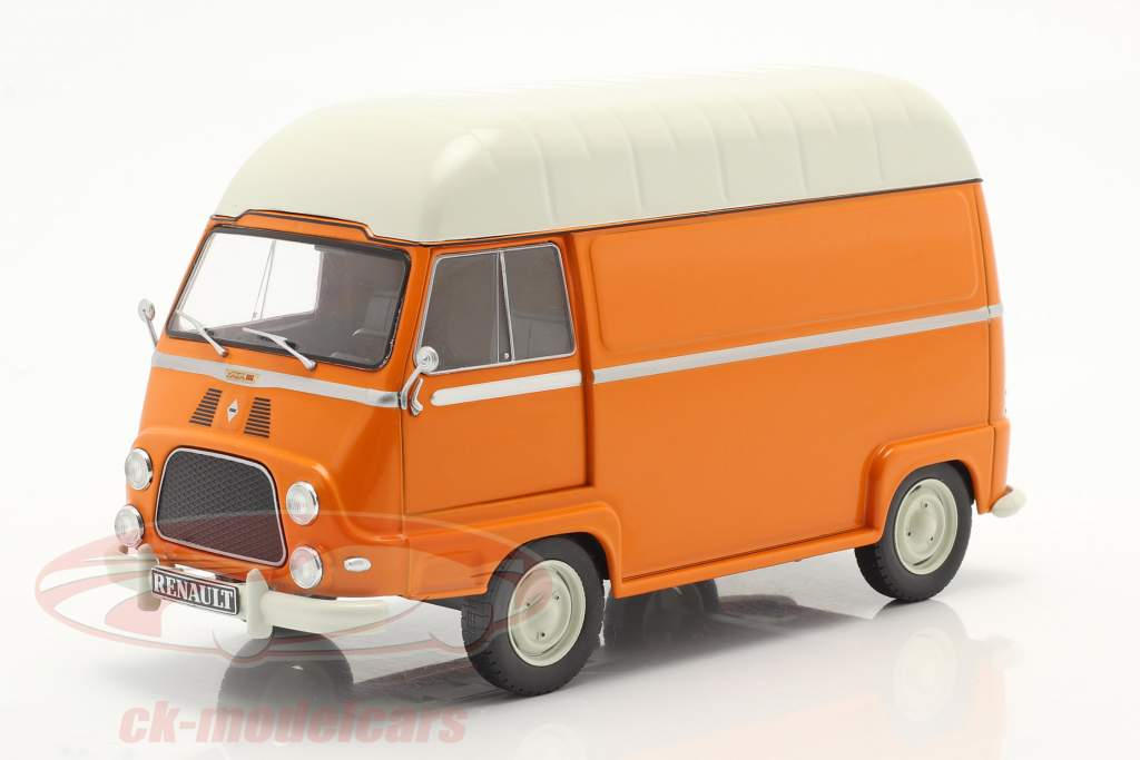Renault Estafette Van arancia / bianca 1:24 WhiteBox