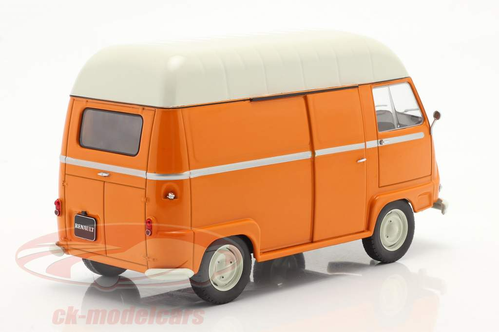 Renault Estafette Van Orange / blanc 1:24 WhiteBox