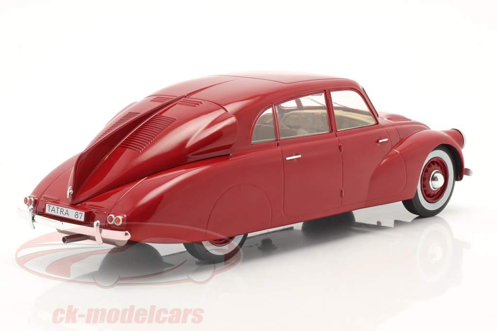 Tatra 87 Anno di costruzione 1937 buio rosso 1:18 Model Car Group