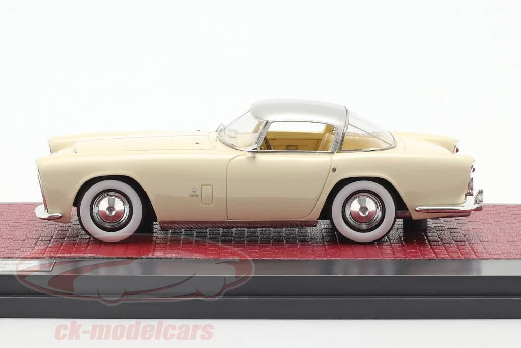 Dodge Storm Zeder Z-250 by Bertone 1953 crema blanco / plata 1:43 Matrix
