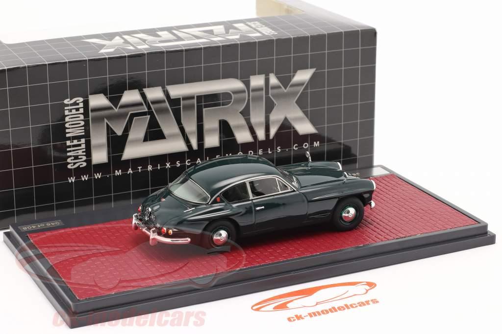 Jensen 541 S Ano de construção 1961 verde escuro 1:43 Matrix