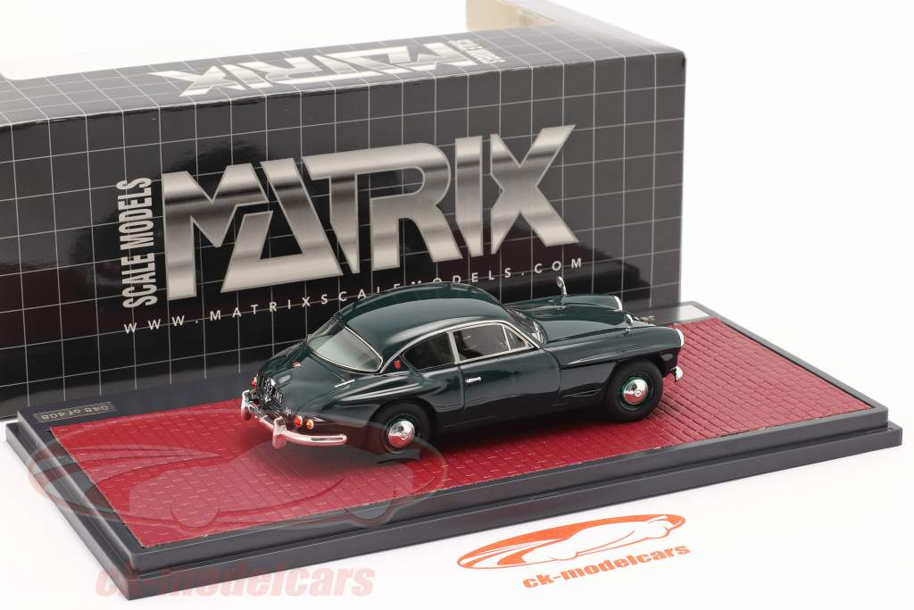 Jensen 541 S year 1961 dark green 1:43 Matrix