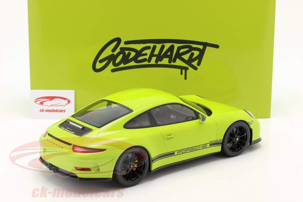 Porsche 911 (991) R Ring Police Ano de construção 2016 luz verde 1:12 Minichamps