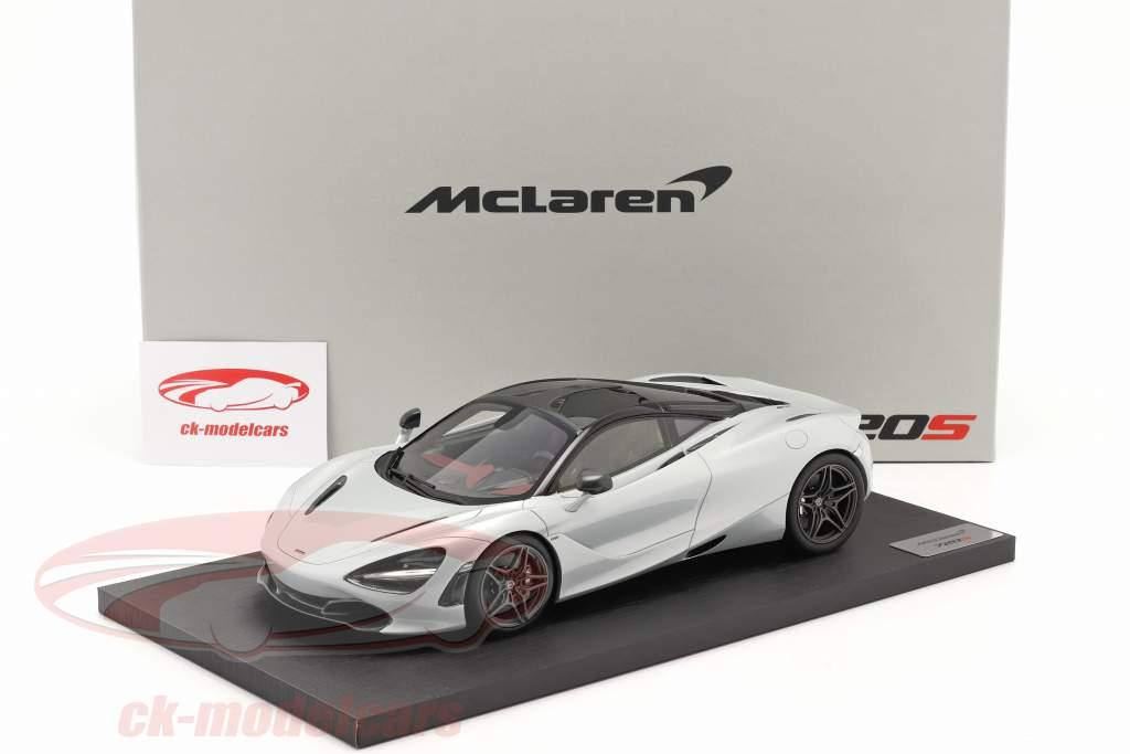 McLaren 720S year 2017 glacier white 1:18 TrueScale
