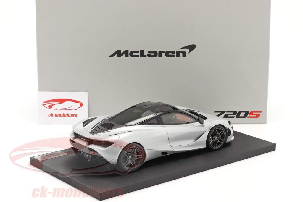 McLaren 720S Année de construction 2017 glacier blanc 1:18 TrueScale