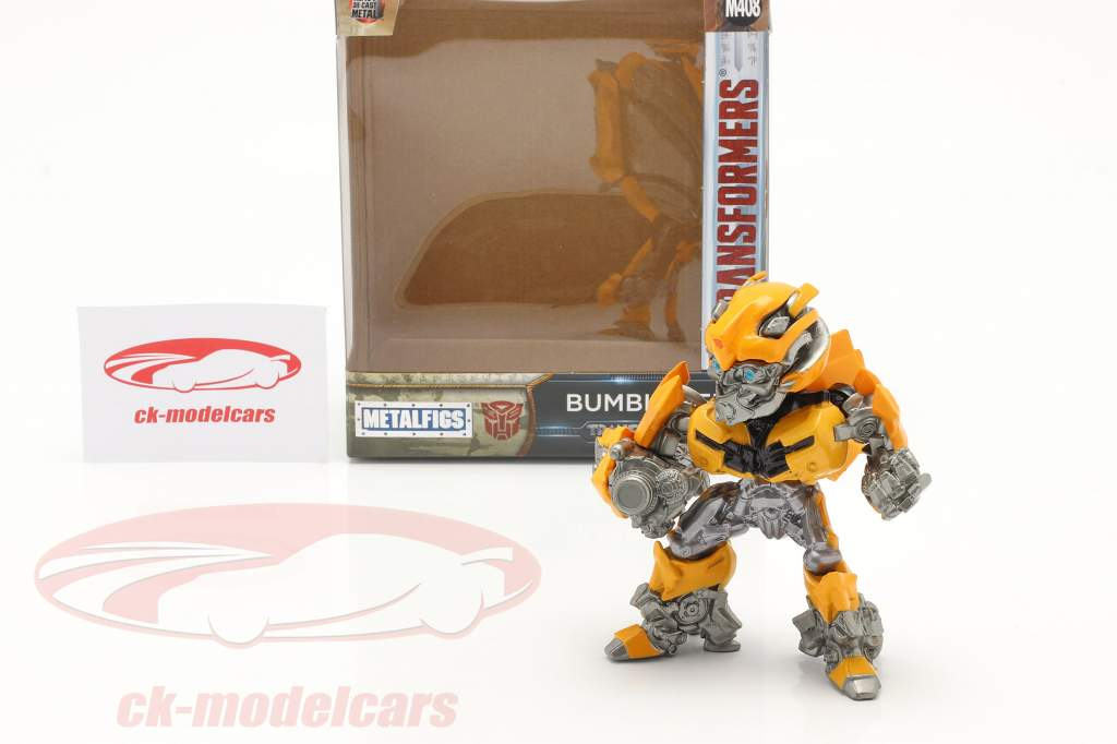 figura Bumblebee Fora a Filme Transformers 5: The Last Knight 2017 1:24 Jada Toys