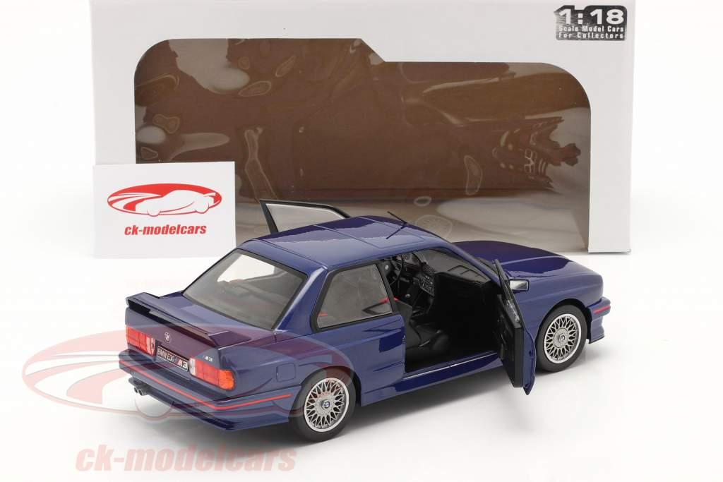 BMW M3 (E30) Coupe year 1990 mauritius blue 1:18 Solido