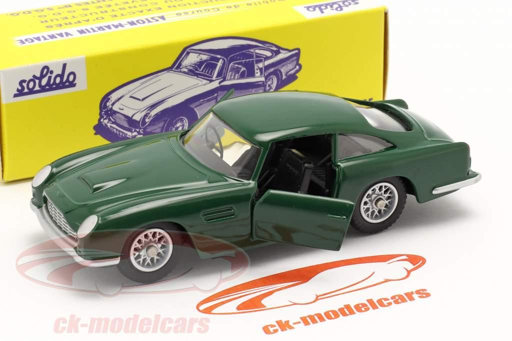 Aston Martin DB5 Vantage carreras verde 1:43 Solido