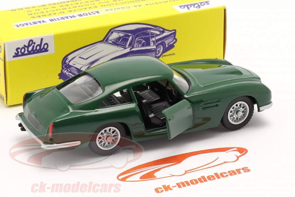 Aston Martin DB5 Vantage corrida verde 1:43 Solido