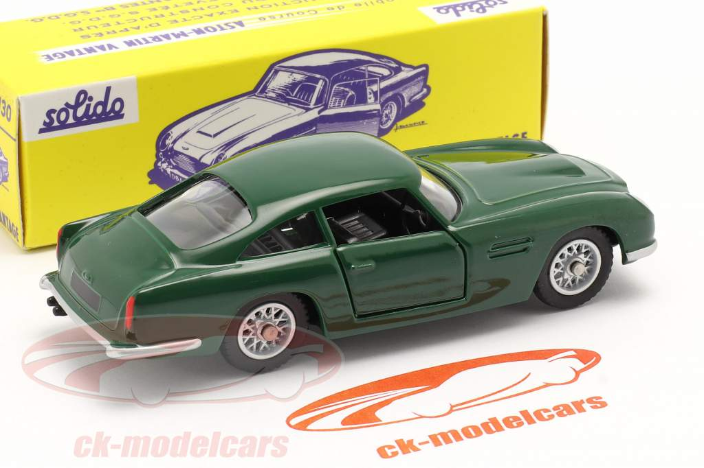 Aston Martin DB5 Vantage racing grøn 1:43 Solido