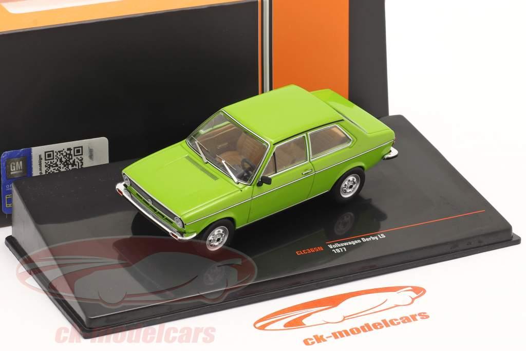 Volkswagen VW Derby LS Ano de construção 1977 verde 1:43 Ixo