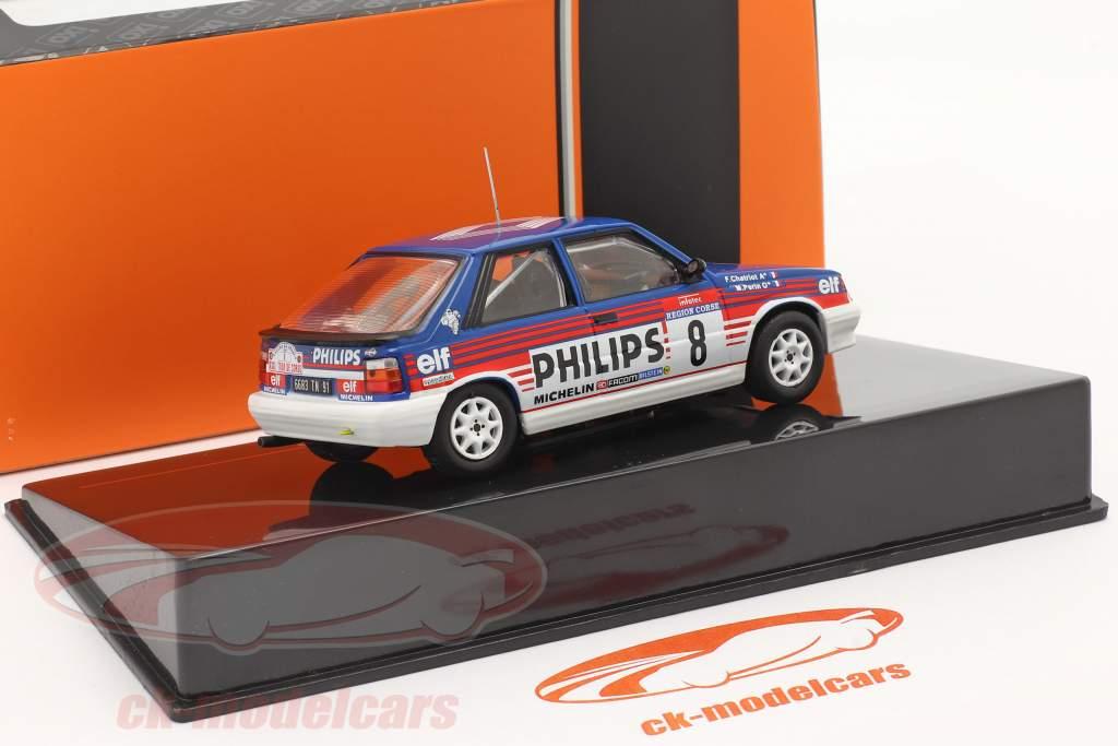Renault 11 Turbo #3 Cuarto Rallye Tour de Corse 1987 Chatriot, Perin 1:43 Ixo