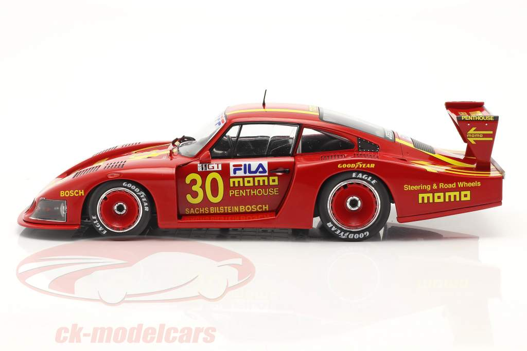 Porsche 935 Moby Dick #30 DRM Norisring 1981 Giampiero Moretti 1:18 Solido
