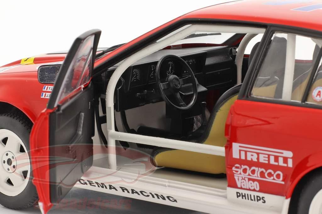 Alfa Romeo GTV6 #23 5e Tour de Corse 1985 Loubet, Vieu 1:18 Solido