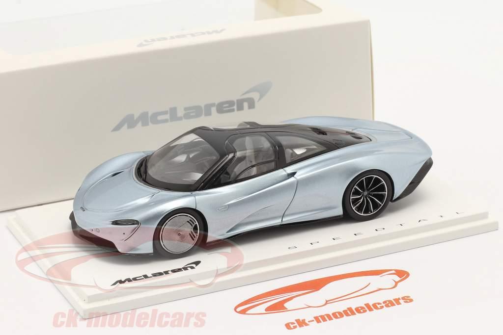 McLaren Speedtail Baujahr 2019 liquid crystal 1:43 Spark
