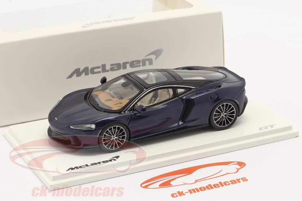 McLaren GT year 2019 namaka blue 1:43 Spark