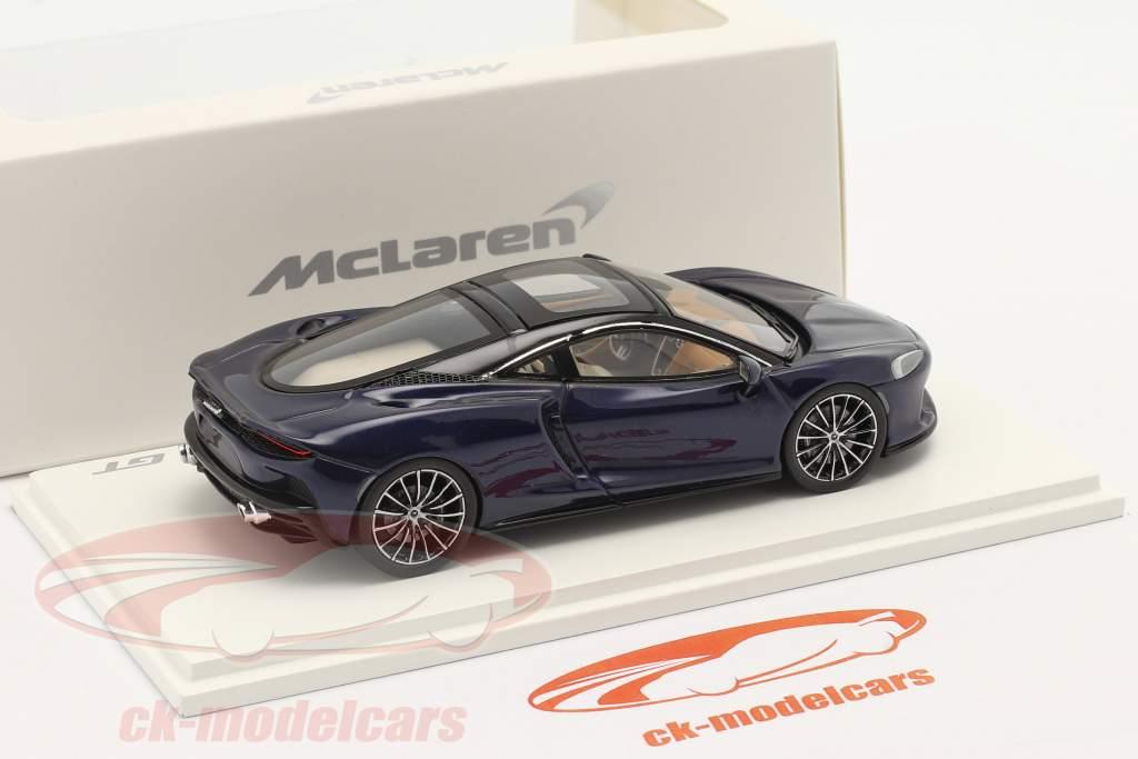 McLaren GT Ano de construção 2019 namaka azul 1:43 Spark