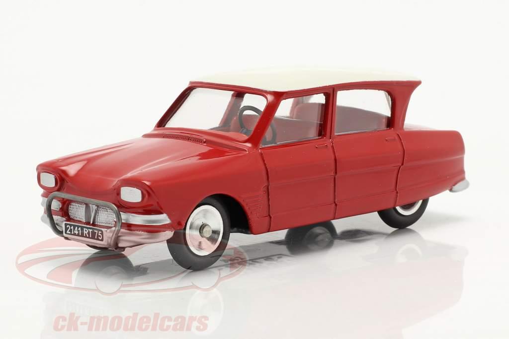 Citroen Ami 6 Berline Anno di costruzione 1961 rosso 1:43 Solido