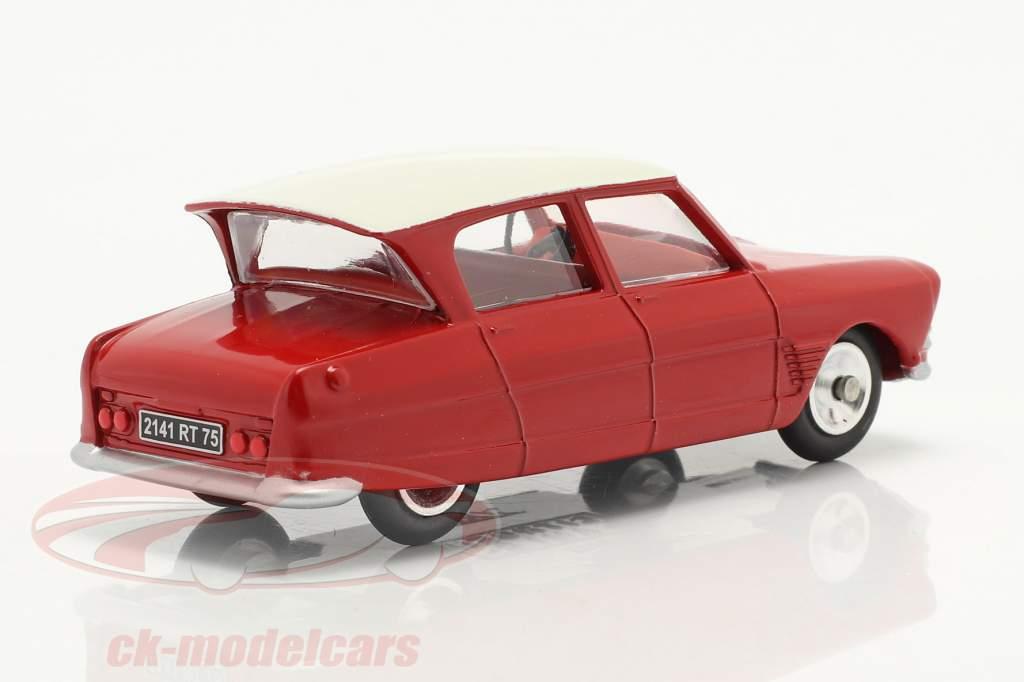 Citroen Ami 6 Berline Bouwjaar 1961 rood 1:43 Solido