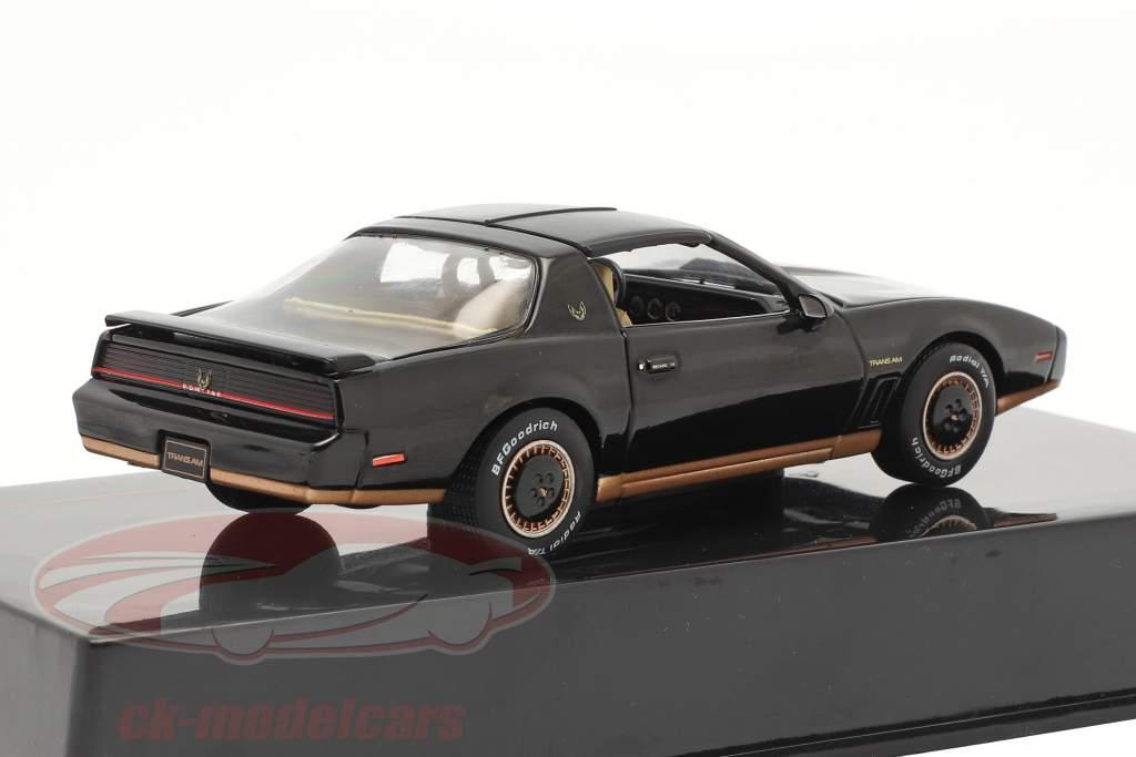 Pontiac Firebird Ano de construção 1982 Preto 1:43 Ixo